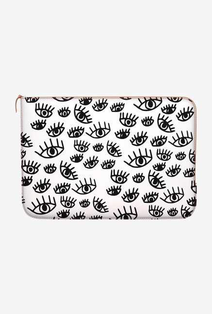 "DailyObjects Protective Eyes Macbook Air 11"" Zippered Sleeve"