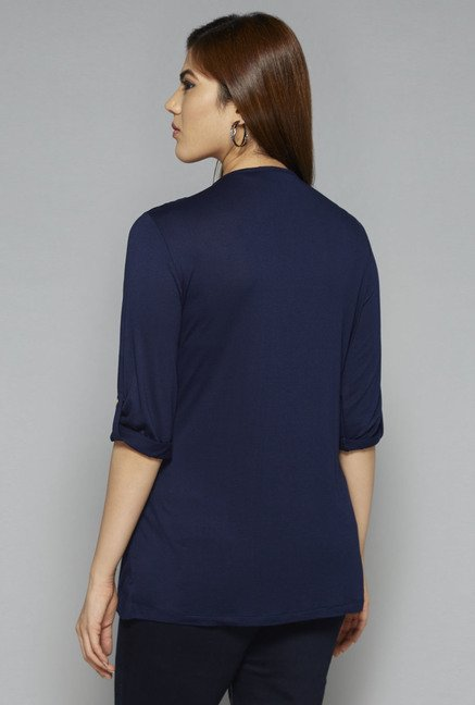 Gia by Westside Navy Victoria Top