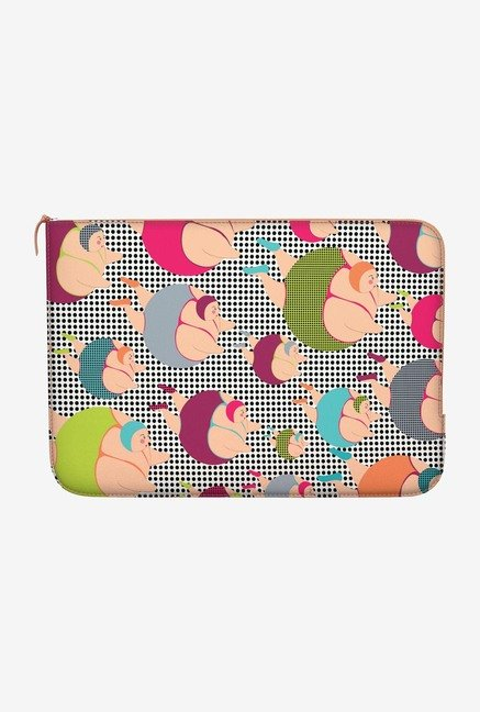 "DailyObjects Spotty Swimmers Macbook Air 13"" Zippered Sleeve"