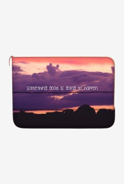 "DailyObjects Something Good Macbook Air 11"" Zippered Sleeve"