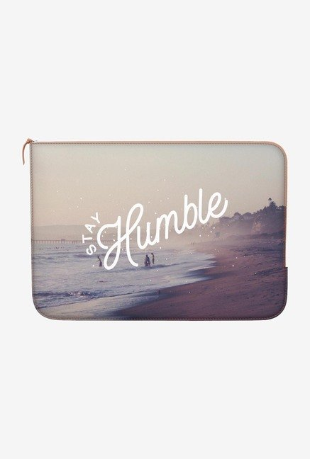 "DailyObjects Stay Humble Macbook Air 11"" Zippered Sleeve"