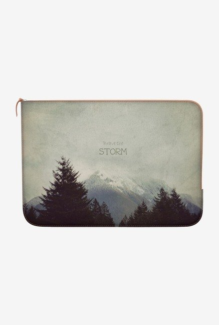 "DailyObjects Storm Landscape Macbook 12"" Zippered Sleeve"