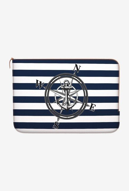 "DailyObjects Striped Nautica Macbook Pro 15"" Zippered Sleeve"
