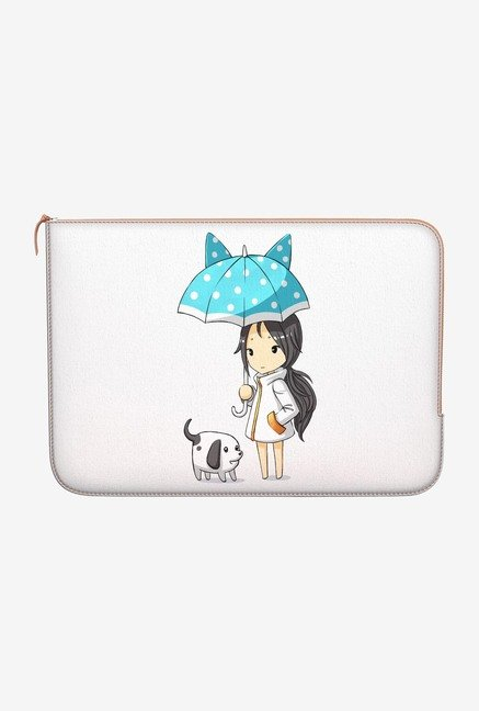 "DailyObjects Strolling Out Macbook Air 13"" Zippered Sleeve"