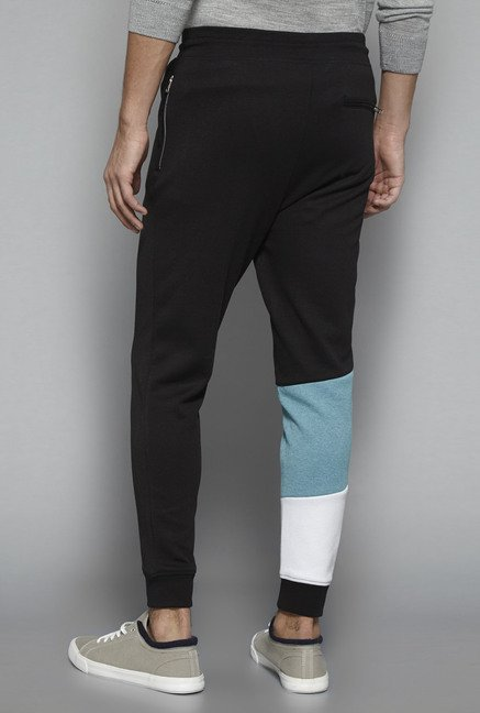 Nuon by Westside Black Solid Jogger