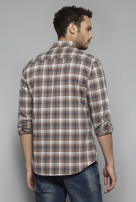 Westsport by Westside Rust Checks Shirt