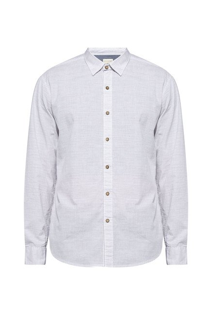 Westsport by Westside Off White Regular Fit Shirt