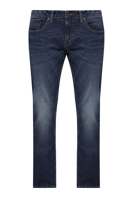 Westsport by Westside Blue Regular Fit Jeans