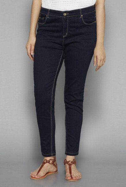 Gia by Westside Navy Raw Denim Jeans