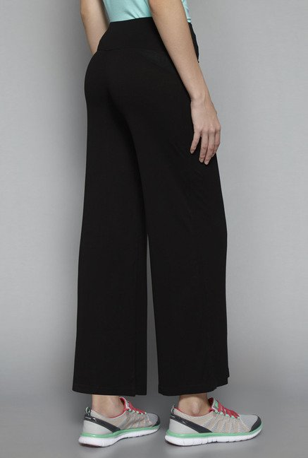 Westsport by Westside Black Solid Yoga Pant