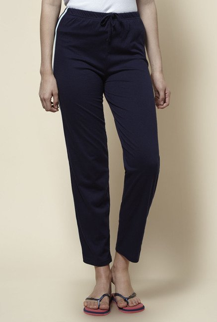 Zudio Navy Solid Pant