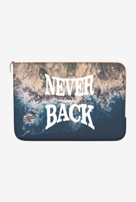 "DailyObjects Never Look Back Macbook Air 13"" Zippered Sleeve"