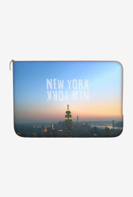 DailyObjects Newyork, Newyork Macbook Pro 15 Zippered Sleeve