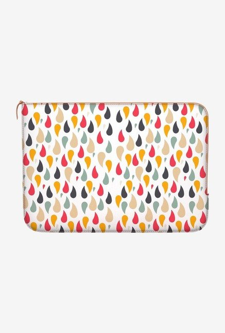 "DailyObjects Rain In Color Macbook Air 13"" Zippered Sleeve"