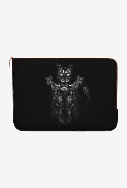"DailyObjects Robowarrior Cat Macbook Air 11"" Zippered Sleeve"