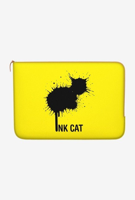 "DailyObjects Rorschach Cat Macbook Air 13"" Zippered Sleeve"