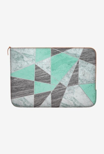 "DailyObjects Marble Lines Macbook 12"" Zippered Sleeve"