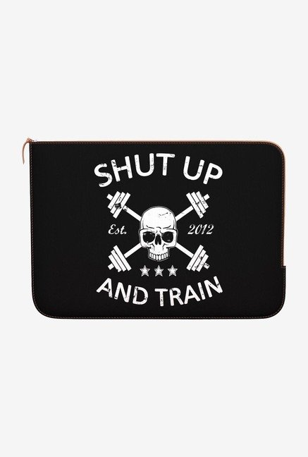"DailyObjects Shut Up Macbook Pro 13"" Zippered Sleeve"