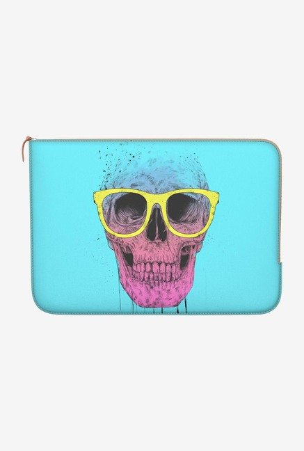 "DailyObjects Skull Glass Macbook Air 11"" Zippered Sleeve"