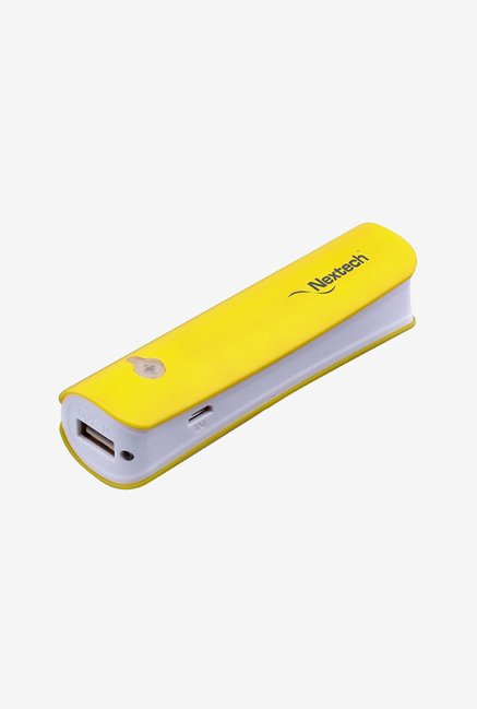Nextech iCharge PB360Y 2800 mAh Power Bank (Yellow)