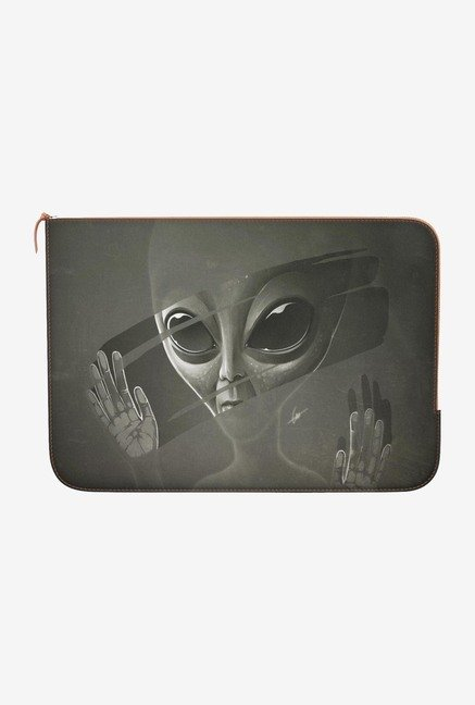 "DailyObjects Alien Macbook Air 13"" Zippered Sleeve"