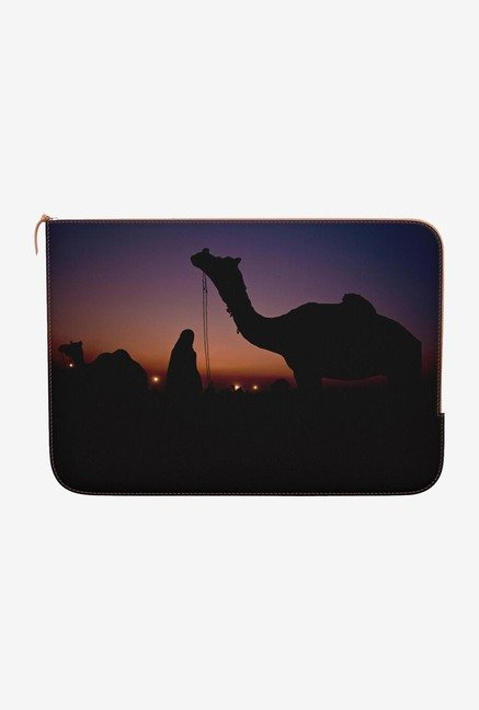 "DailyObjects Purple Sunset Macbook Air 11"" Zippered Sleeve"