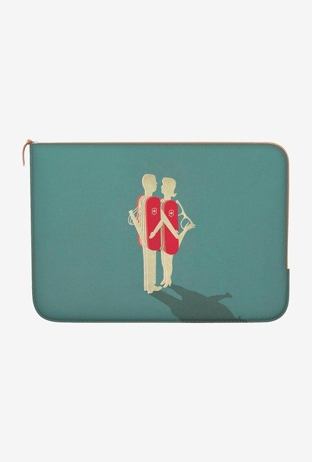 "DailyObjects Relationship Macbook Air 13"" Zippered Sleeve"