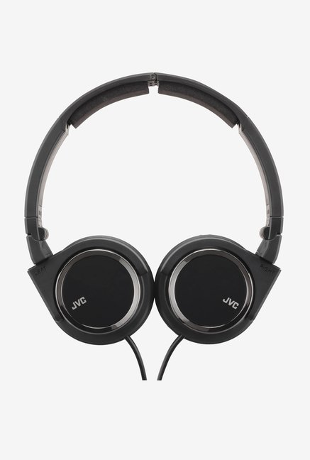 JVC HA-S400 On The Ear Headphones (Black)