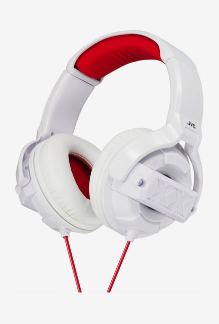 JVC Xtreme Xplosives HAM55XW Over The Ear Headphones (White)