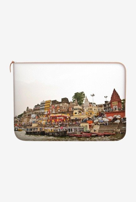 "DailyObjects River Traffic Macbook Air 13"" Zippered Sleeve"