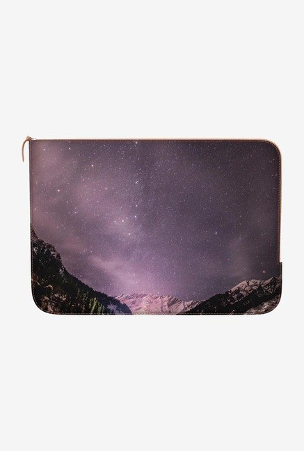 "DailyObjects Bright Night Macbook Air 11"" Zippered Sleeve"