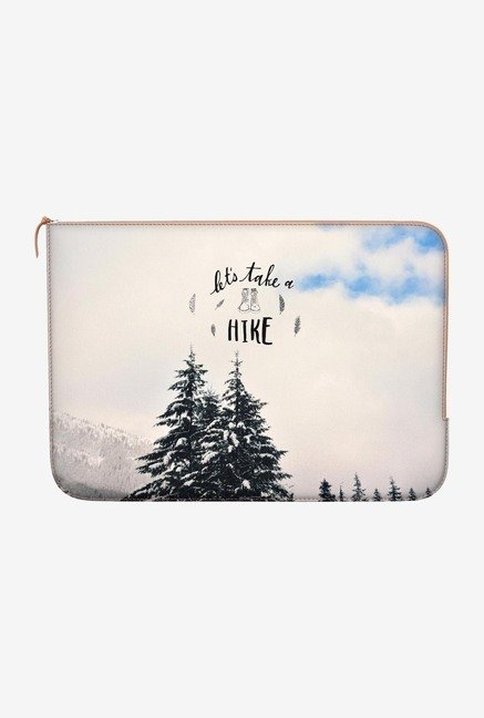 "DailyObjects Take A Hike Macbook 12"" Zippered Sleeve"