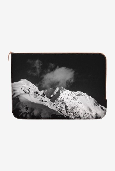 "DailyObjects Snow Capped Macbook Air 11"" Zippered Sleeve"