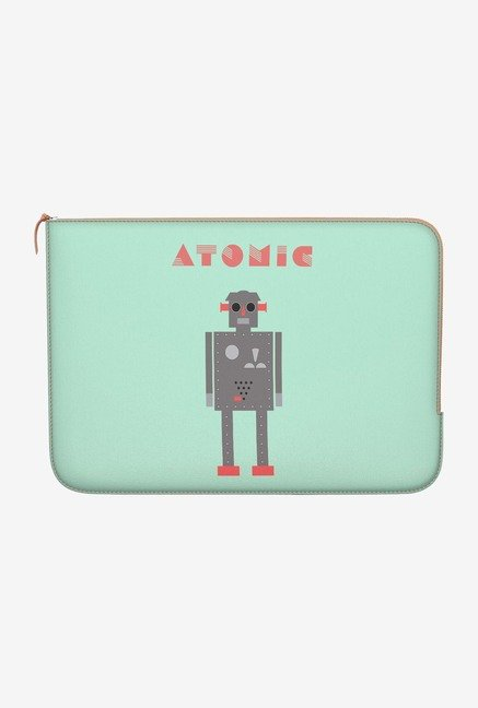 "DailyObjects Atomic Robot Macbook 12"" Zippered Sleeve"