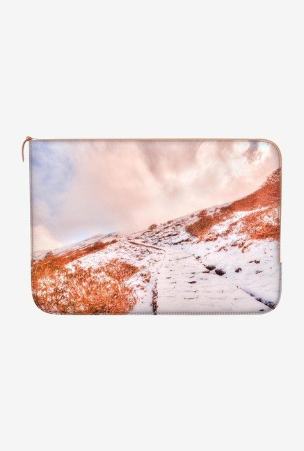 "DailyObjects Snow Trail Macbook Air 13"" Zippered Sleeve"