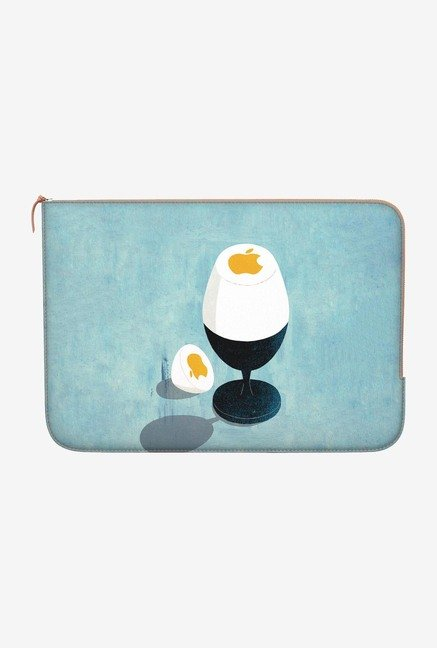 DailyObjects Soft Boiled Logo Macbook Pro 15 Zippered Sleeve