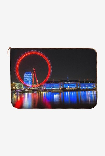 "DailyObjects The London Eye Macbook Pro 13"" Zippered Sleeve"