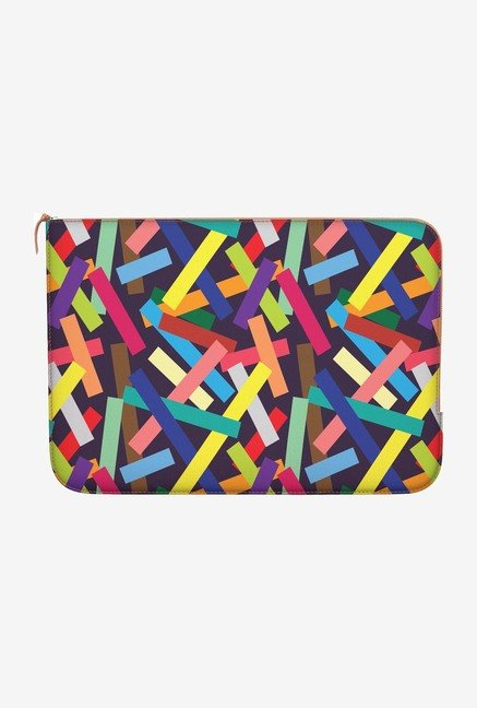 "DailyObjects Square Confetti Macbook Pro 13"" Zippered Sleeve"
