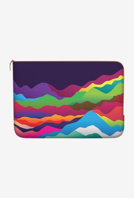 "DailyObjects Color Mountains Macbook Pro 13"" Zippered Sleeve"