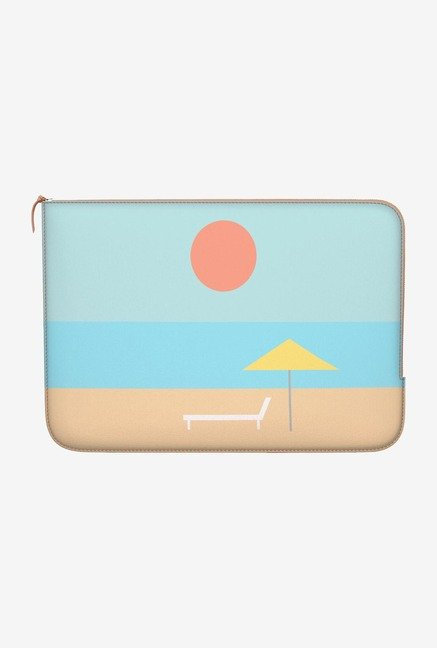 "DailyObjects Beach Iconic Macbook 12"" Zippered Sleeve"