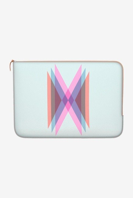 "DailyObjects Stylised H Macbook Pro 13"" Zippered Sleeve"