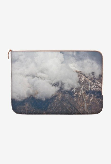 "DailyObjects Craggy Peaks Macbook Air 13"" Zippered Sleeve"