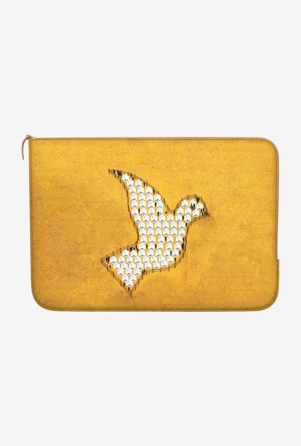 "DailyObjects Beyond Fences Macbook 12"" Zippered Sleeve"