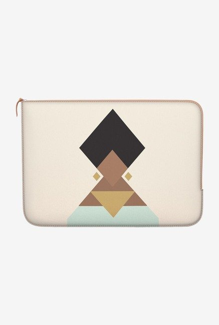 "DailyObjects Stylised Turban Macbook Pro 13"" Zippered Sleeve"