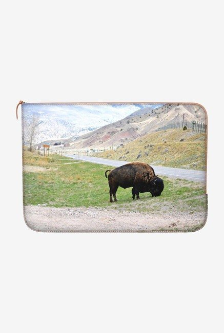 DailyObjects The Buffalo Roam Macbook Pro 15 Zippered Sleeve