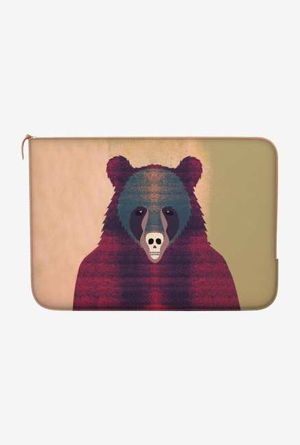 "DailyObjects Bjorn Free Bear Macbook Air 13"" Zippered Sleeve"