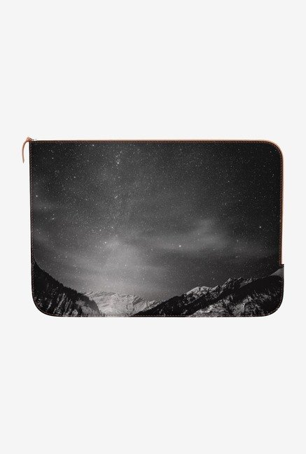 "DailyObjects Black White Macbook Pro 13"" Zippered Sleeve"