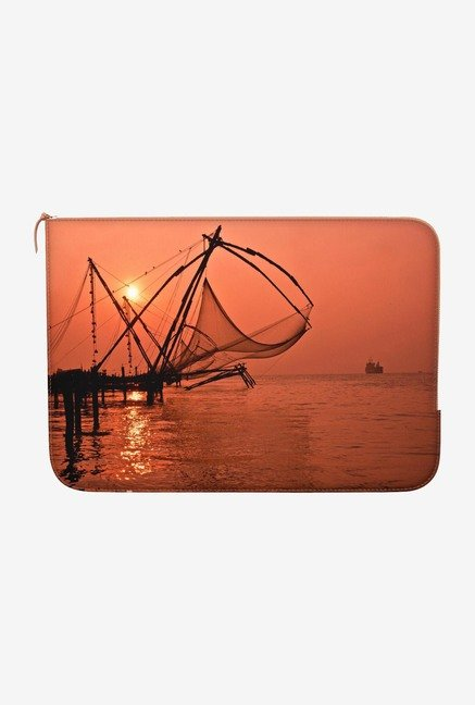 "DailyObjects Fishing Macbook Air 11"" Zippered Sleeve"