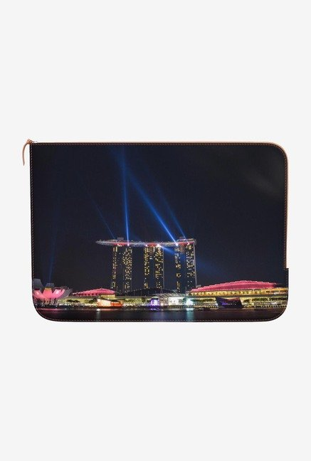 DailyObjects Marina Bay Sands Macbook Pro 13 Zippered Sleeve