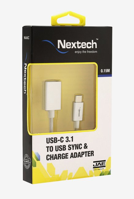 Nextech NA6C USB-C to USB Adapter (White)